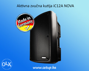 Aktivna zvučna kutija iC12A NOVA