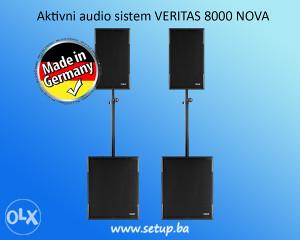 Aktivni audio sistem VERITAS 8000 NOVA