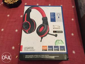 Slušalice Legatos stereo gamerske NOVE