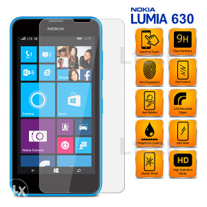 Nokia Lumia 630 Tempered Glass