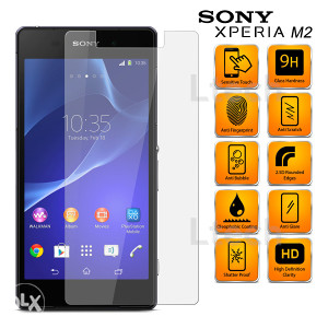 Sony Xperia M2 S50H Tempered Glass