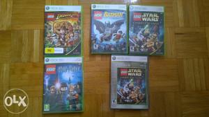 Lego Batman , Indiana Jones , Harry Potter , Star Wars