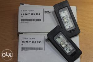 Osvjetljenje tablice BMW X3, X5, X6 - F25,E70,E71,E72