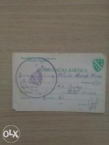 Potrosacka kartica