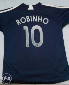 Dres Real Madrid-Robinho