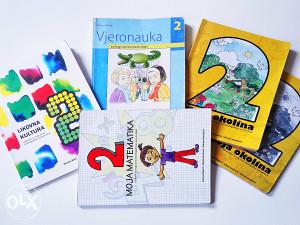 Knjige za drugi razred osnovne škole