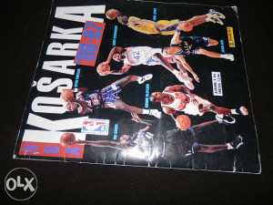 NBA 96-97 Panini album ispunjen
