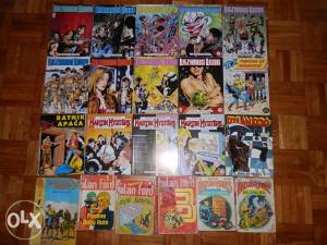 Lot stripova za čitanje 21 strip