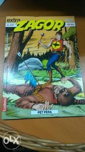 ZAGOR EXTRA BR.237-PET PERA