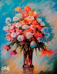 Umjetnička slika - Poljsko cvijeće
