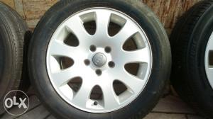 Alu felge,gume Bridgestone za audi