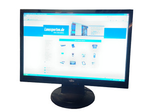 "Fujitsu siemens 22"" wide screen glossy black"