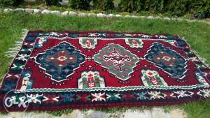 Bosanski tkani vuneni cilim