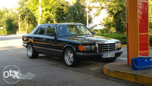 Mercedes W 126 380SE 3.8 V8 LPG