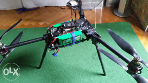 MULTIROTOR heavylift Y6 hexa DRON za snimanje iz zraka