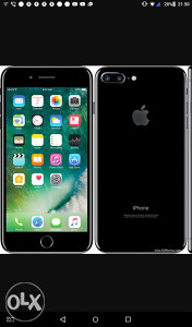 IPhone 7 plus 128 gb nov JET BLACK