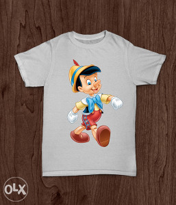 SuperMajice   CRTANI FILMOVI   Pinocchio majica