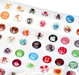 iPhone Home Button Stikeri