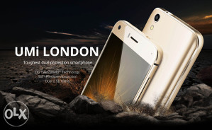 """UMI London  GOLD Android 6.0,  5"""" , 1i 8GB  kam.8mpx"""