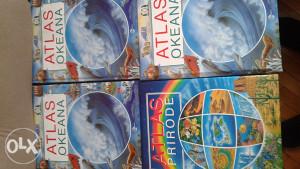 knjige i atlasi