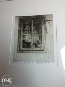 """Safet Zec """"Prozor"""" 30 x 20 cm"""