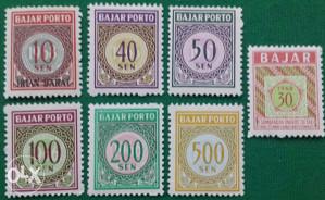 INDONESIA 1966 - Poštanske marke - 2163 - čiste