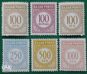 INDONESIA 1963 - Poštanske marke - 2164 - čiste