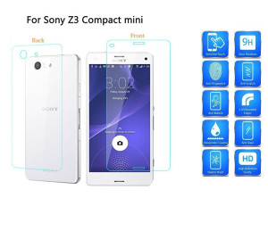 Sony Xperia Z3 Compact/Mini Front&Back Tempered Glass