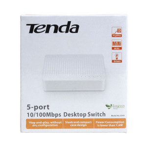 Tenda 5- port Desktop switch