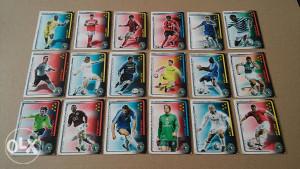 Fudbaleri Trading CardGame TEKMA 2007 18 komada