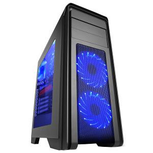 MS Falcon Pro Gaming Blue LED kuciste