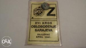 Vojna značka kros Oslobodjenje Sarajeva 1991 g