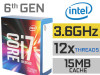 CPU LGA x99 Intel Core i7 6800K 12x3.4-3.6GHz Unlocked