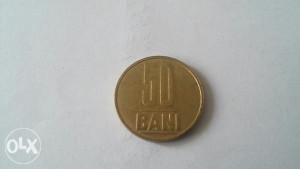 Kovanica Rumunija 50 Bani iz 2008 godine