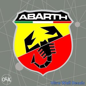 Auto naljepnica ABARTH stiker naljepnice