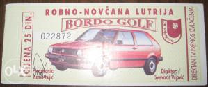Lutrija 1991 Jugoslavija