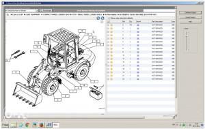 CASE katalog dijelova za CASE radne strojeve