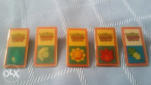 Pokemon značke medalje
